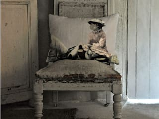 Printed Cushions: eclectic  by Original Little Bird, Eclectic
