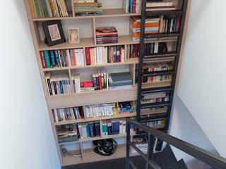 Modern corridor, hallway & stairs by Jacek Tryc-wnętrza Modern