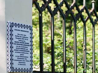 Freiraumgestaltung und Sanierung der Kapelle auf Schloss Merkenstein t-hoch-n Architektur Klassischer Garten