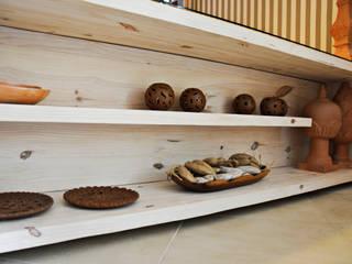 RESTAURANTE: Cozinha  por Renato Teles Arquitetura