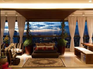 Gláucia Britto Balcone, Veranda & Terrazza in stile moderno
