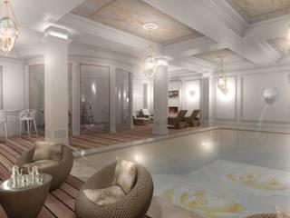 Villa Emirates Spa in stile classico di BenciDesign Classico