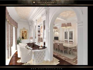 Villa Moscow Sala da pranzo eclettica di BenciDesign Eclettico