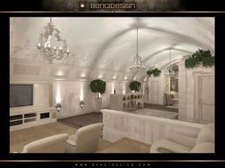 Villa Moscow Giardino d'inverno eclettico di BenciDesign Eclettico