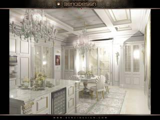 Villa Emirates Cucina in stile classico di BenciDesign Classico