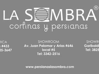 """DIRECCIONES DE SHOWROOM """"PERSIANAS LA SOMBRA"""" de Persianas La Sombra Minimalista"""