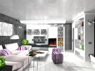 Modern Italian Style: Soggiorno in stile in stile Moderno di BenciDesign