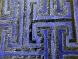 RAW Leather Argentina – Alfombras de Cuero con Pelo – Patchwork – Modelo: Doble T:  de estilo  de RAW Leather Argentina