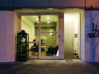 秋葉原リノベーション: 有限会社タクト設計事務所が手掛けた窓です。
