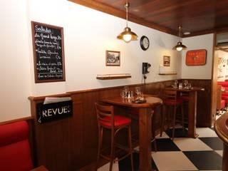 Ресторации в . Автор – Agence C+design - Claire Bausmayer,