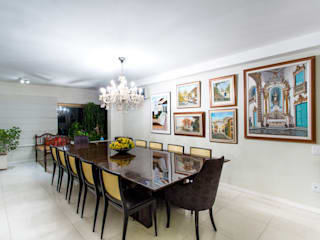 Comedores de estilo moderno de Bruno Sgrillo Arquitetura Moderno