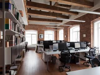 Офис архитектурное бюро Lofting LOFTING Офисы и магазины в стиле лофт
