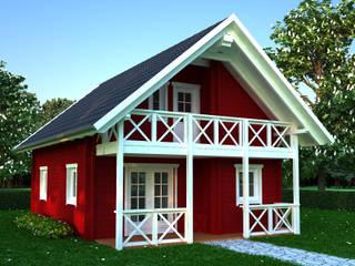 Scandinavian style houses by Dr. Jeschke Holzbau GmbH & Co. KG Scandinavian