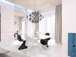 Дизайн интерьера квартиры, г. Одинцово, Московская область. от Архитектурная мастерская Н. Тумановой Лофт