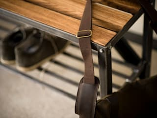 Coat Rack Bench: classic  by One Off Oak Limited, Classic