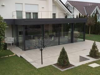 Wintergarten - minimalistische Formen Minimalistischer Wintergarten von Metallbau Beilmann GmbH Minimalistisch
