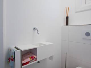 Marike Pixel fontein Landelijke badkamers van Marike Landelijk