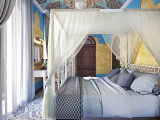 아시아스타일 침실 by AbcDesign 한옥