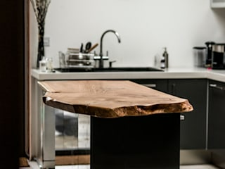 Kitchen Island:   by One Off Oak Limited