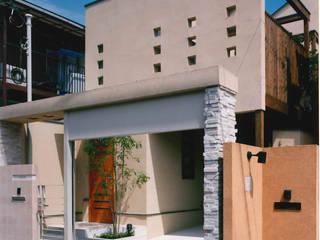細長い敷地を逆手に生かした家 地中海風 家 の 豊田空間デザイン室 一級建築士事務所 地中海