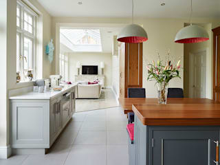 Belgravia | A Modern Classic Davonport ห้องครัว ไม้ Grey
