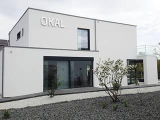 Villa im Bauhausstil für OKAL:  Fenster von Metallbau Beilmann GmbH