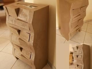 Meuble en carton :  de style  par L'en Verre du Carton