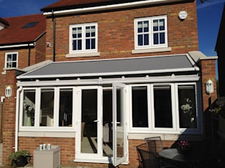 External Roof Blind Installation in Hertfordshire.:   by Caribbean Blinds