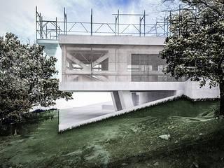 PRIVATE HOME IN PERUGIA - 2012|+312.50 Case moderne di Cacciamani Diego Architetto Moderno