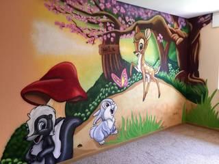 Bambi Kinderzimmer:  Kinderzimmer von MR.Graffiti