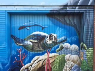 Unterwasser Garage:  Garage & Schuppen von MR.Graffiti