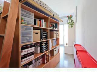 Loft en Les Corts (37m2) Dormitorios de estilo moderno de Brigitte Hübner Moderno