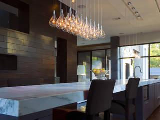 Larmes de GEO Iluminación Aplicada Moderno Aluminio/Cinc