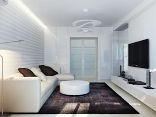 Minimalist living room by Оксана Мухина Minimalist