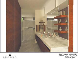 지중해스타일 욕실 by ANGOLO-grado arquitectónico 지중해