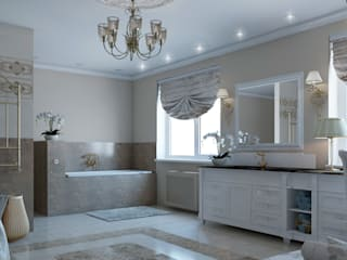 Classic style bathroom by Частный дизайнер и декоратор Девятайкина Софья Classic