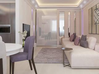 Salon classique par Частный дизайнер и декоратор Девятайкина Софья Classique