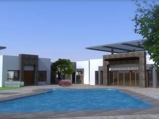 Projekty,  Domy zaprojektowane przez Acrópolis Arquitectura