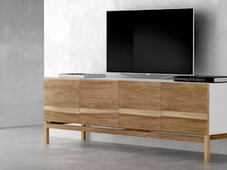 Forma muebles Living roomTV stands & cabinets Solid Wood White
