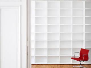 GANTZ Bibliothek nach Maß von GANTZ - Regale und Einbauschränke nach Maß Minimalistisch