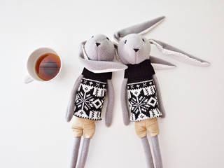 Mr. Rabbit plush, toy, bunny: styl , w kategorii  zaprojektowany przez Lady Stump