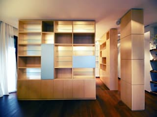 MAT architettura e design Modern Study Room and Home Office