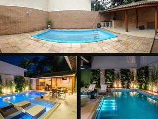 Residência Interlagos:   por Nadia Takatama arquitetura e interiores