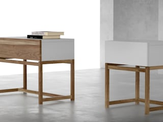 Forma muebles BedroomBedside tables Solid Wood Wood effect