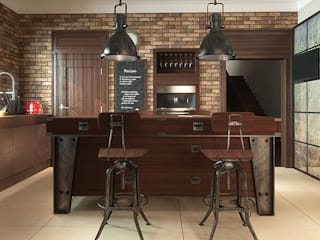 homify Cucina in stile industriale