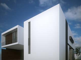 Casa Azamar Casas minimalistas de RTstudio Minimalista