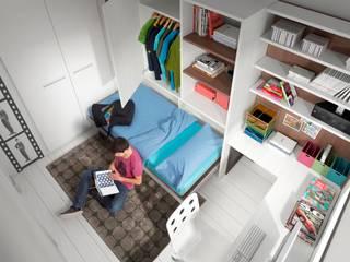 Ambientes Juveniles:  de estilo  de Muebles Amets