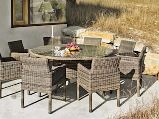 Hevea Garden Furniture Synthetic Brown