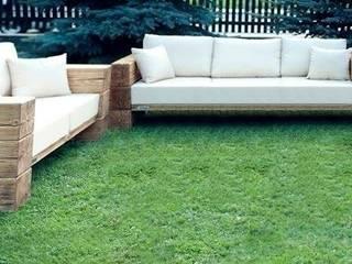 Meble wypoczynkowe Garden: styl , w kategorii  zaprojektowany przez WADesign
