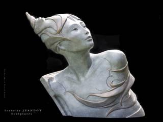 Le guerrier pacifique:  de style  par Sculptures Isabelle Jeandot